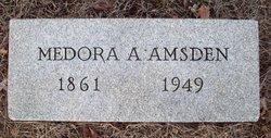 Martha Medora <I>Adams</I> Amsden