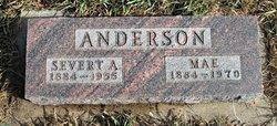 """Clara Mae """"Mae"""" <I>Bru</I> Anderson"""
