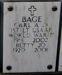 Carl A Bage, Jr