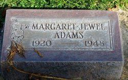 Margaret Jewel Adams