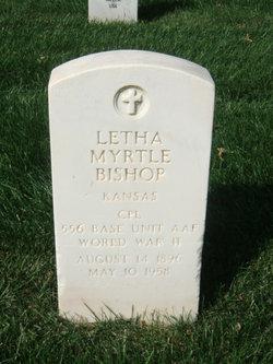 Letha Myrtle Bishop