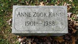 Anne <I>Rohrer</I> Kann