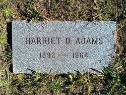 Harriet Dewitt <I>Lent</I> Adams