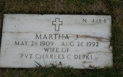Martha J Depki