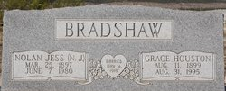 """Nolan Jess """"N  J"""" Bradshaw"""