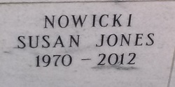 Susan <I>Jones</I> Nowicki