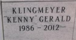 "Gerald ""Kenny"" Klingmeyer"