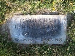 Carroll B Lusk