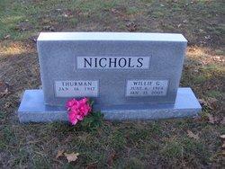 """Willie Ona """"Bill"""" <I>Matthews Gray</I> Nichols"""