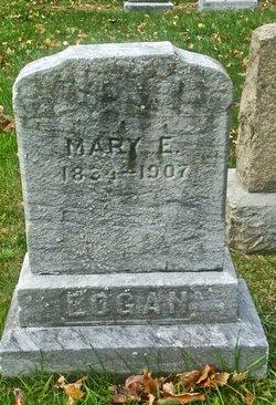 Mary Elizabeth Ann <I>Gladwin</I> Logan