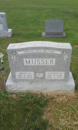 Esther Mae <I>Mellinger</I> Musser