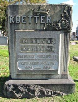 """Henry """"Harry"""" Koetter"""