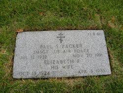 Elizabeth F Zacker