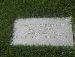 Oliver Lee Garrett, Sr