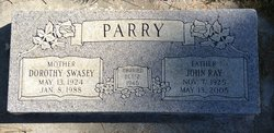 Dorothy <I>Swasey</I> Parry
