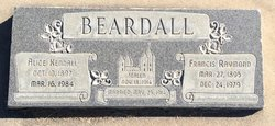 Martha Alice <I>Kendall</I> Beardall