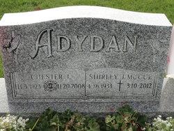 Shirley J. <I>McCue</I> Adydan