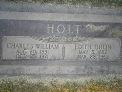 Edith <I>Ohlin</I> Holt