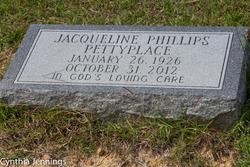 Jacqueline <I>Phillips</I> Pettyplace