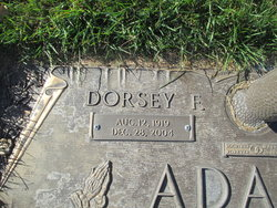 Dorsey Fredrick Adams