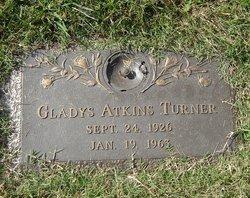 Gladys <I>Atkins</I> Turner