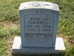 Jessie Fae <I>Shaw</I> Cockrell
