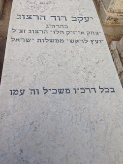 Dr Yaakov David Herzog