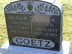 Peter P. Goetz, Sr