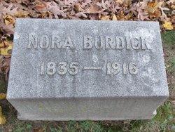 "Honorah ""Nora"" <I>Kennedy</I> Burdick"