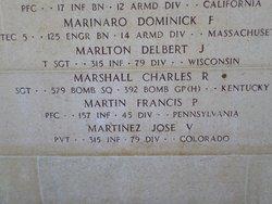 Sgt Charles Robert Marshall