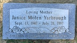 Janice Bernice <I>Molen</I> Yarborough