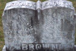 Clara Baker <I>Holmes</I> Brown