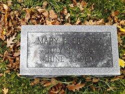 Mary E <I>Law</I> Frantz