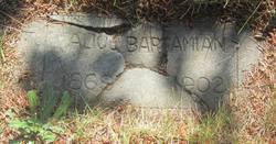 Alice <I>Richards</I> Barsamian