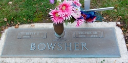 """Victor """"Vic"""" Bowsher, Sr"""