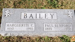 Paul Benford Bailey