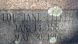 Lou Jane <I>Fowler</I> Felker
