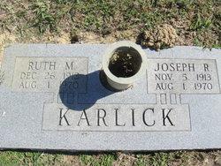 Ruth M Karlick