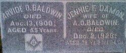 Arvide O Baldwin
