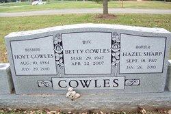 Betty Jean <I>Powers</I> Cowles