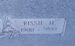 Rissie Caroline <I>Halsey</I> Brown
