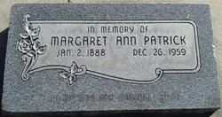 Margaret Ann Patrick
