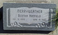 Bertha <I>Hatfield</I> Merryweather