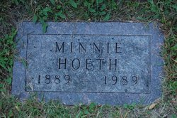 Minnie <I>Schaldach</I> Hoeth