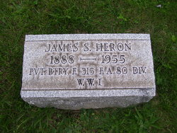 Pvt James S Heron
