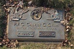 PFC Calvin George Grim