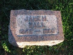 Jane M. <I>Tomlinson</I> Hall