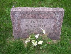 John W Peel, Sr