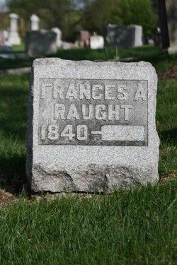 Frances A. <I>Williams</I> Raught