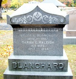 Sarah Emma <I>Raleigh</I> Blanchard